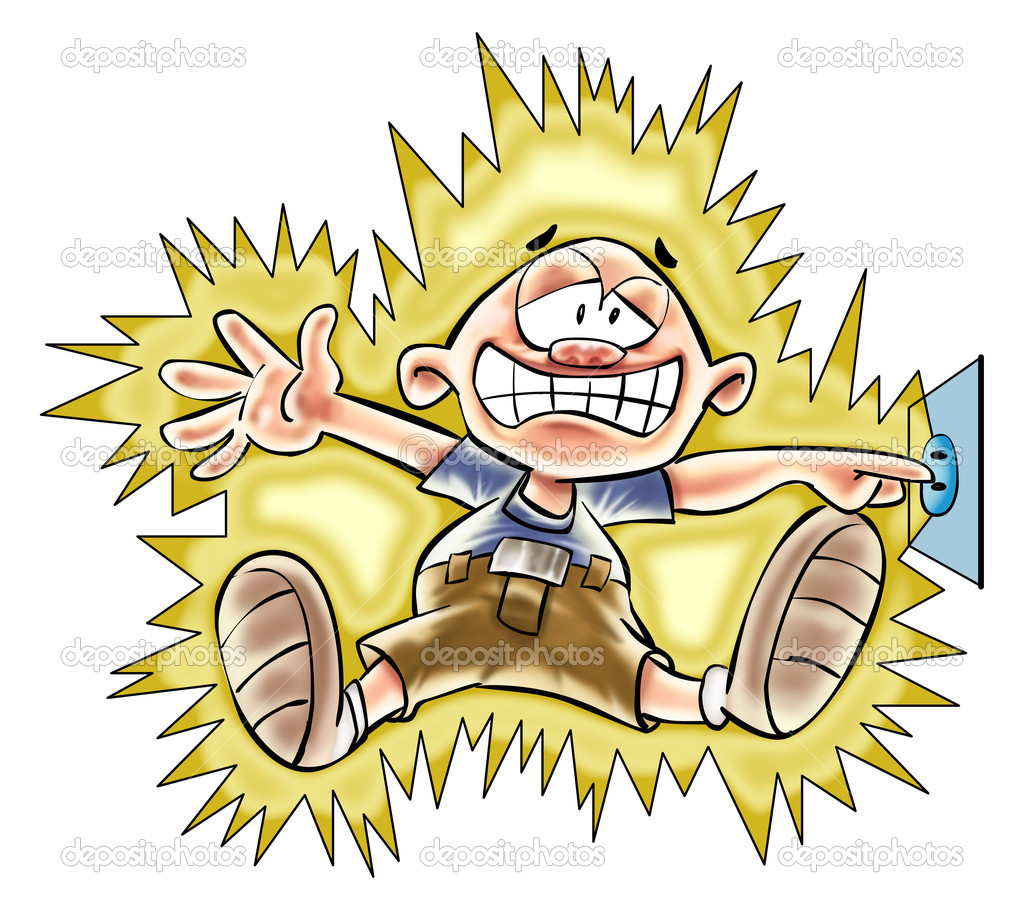Electric Shock Clipart