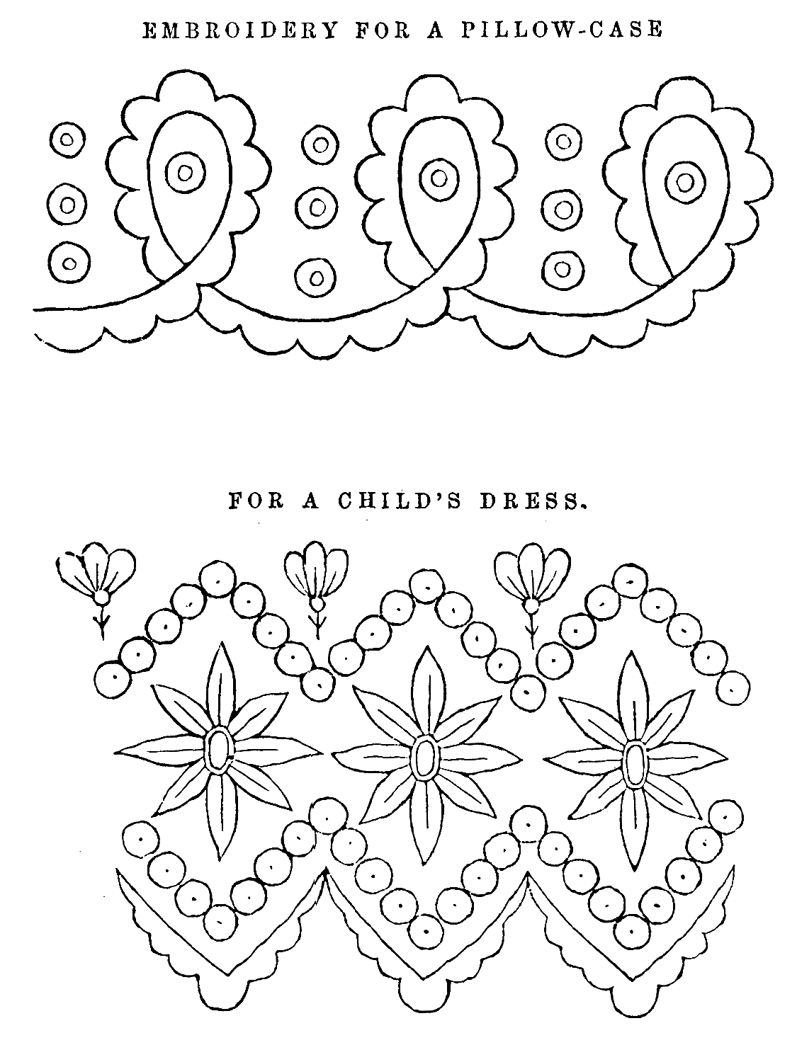 Embroidery Pattern Clipart