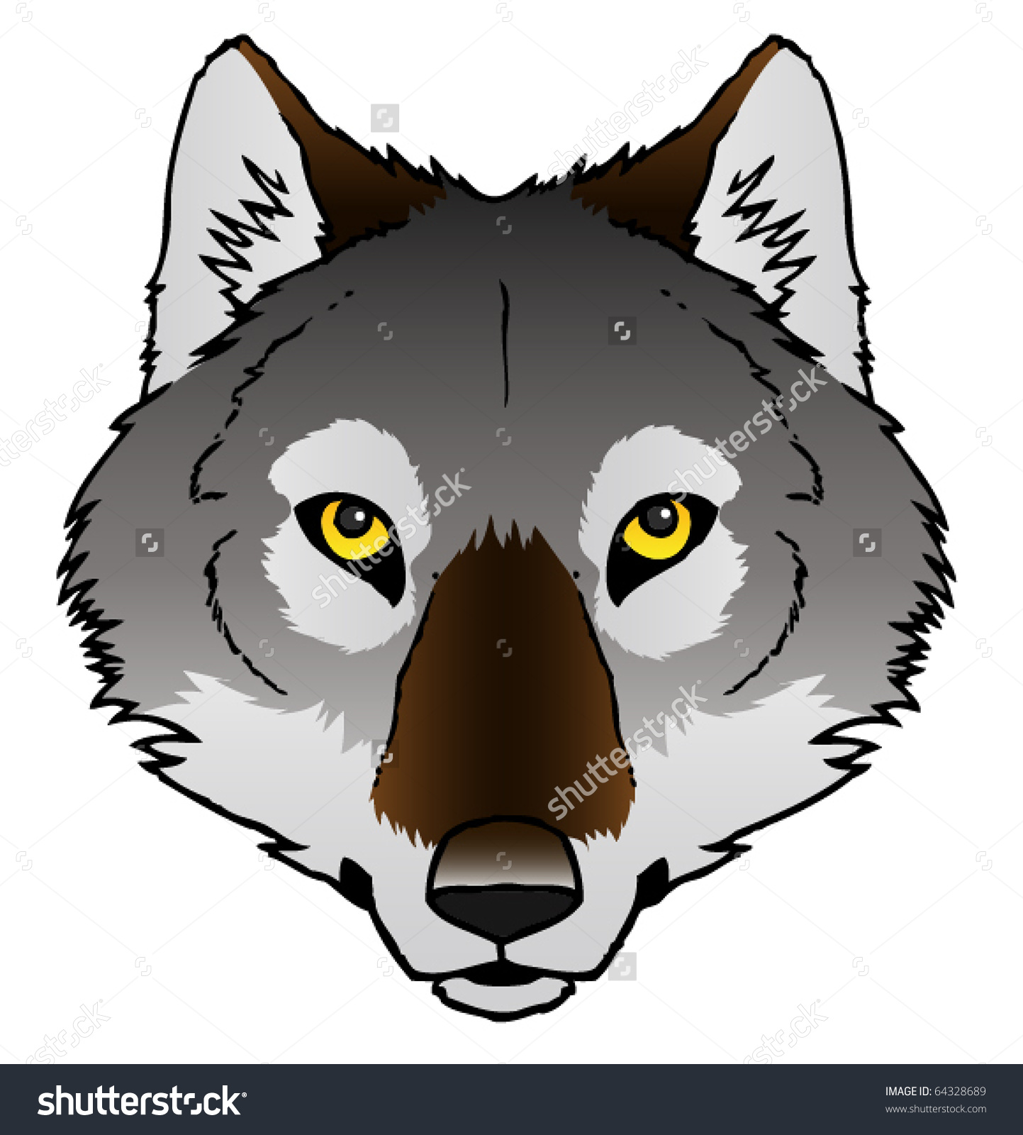 Wolf In Chimney Clipart Clipground