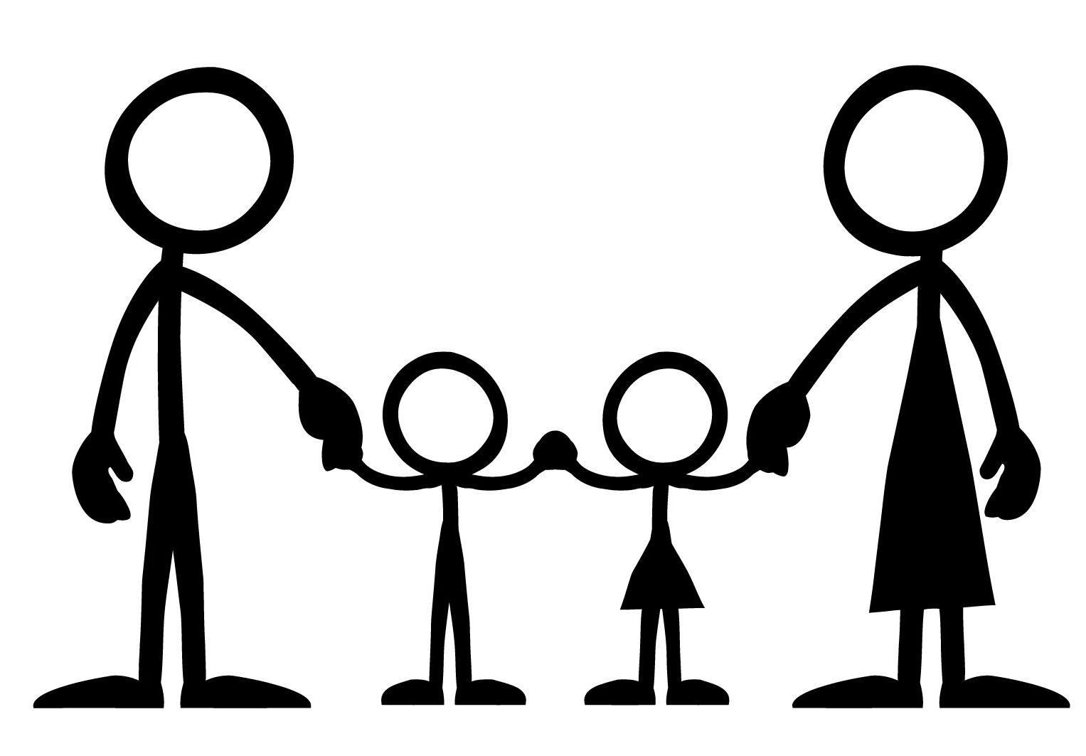 Family Clipart 4 People