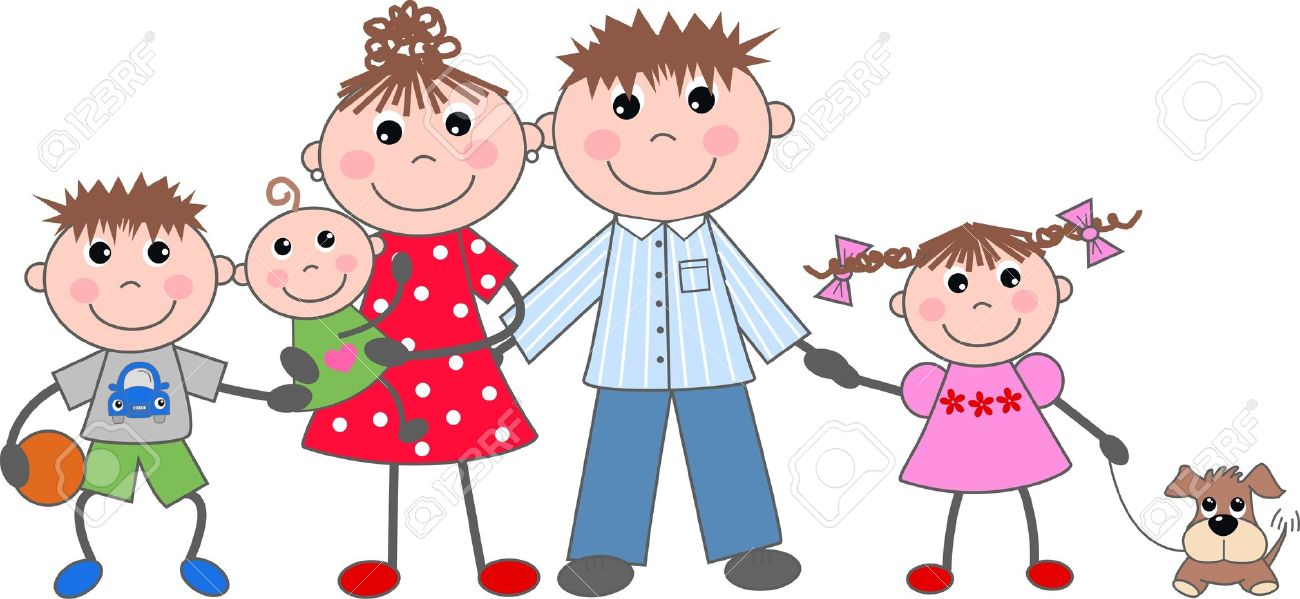 family clipart with no mom ore dad - Clipground (1300 x 599 Pixel)