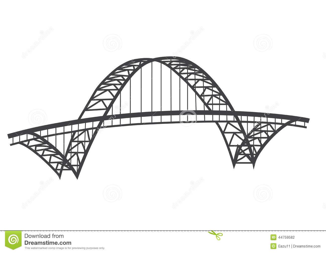 Famous Bridge Clipart