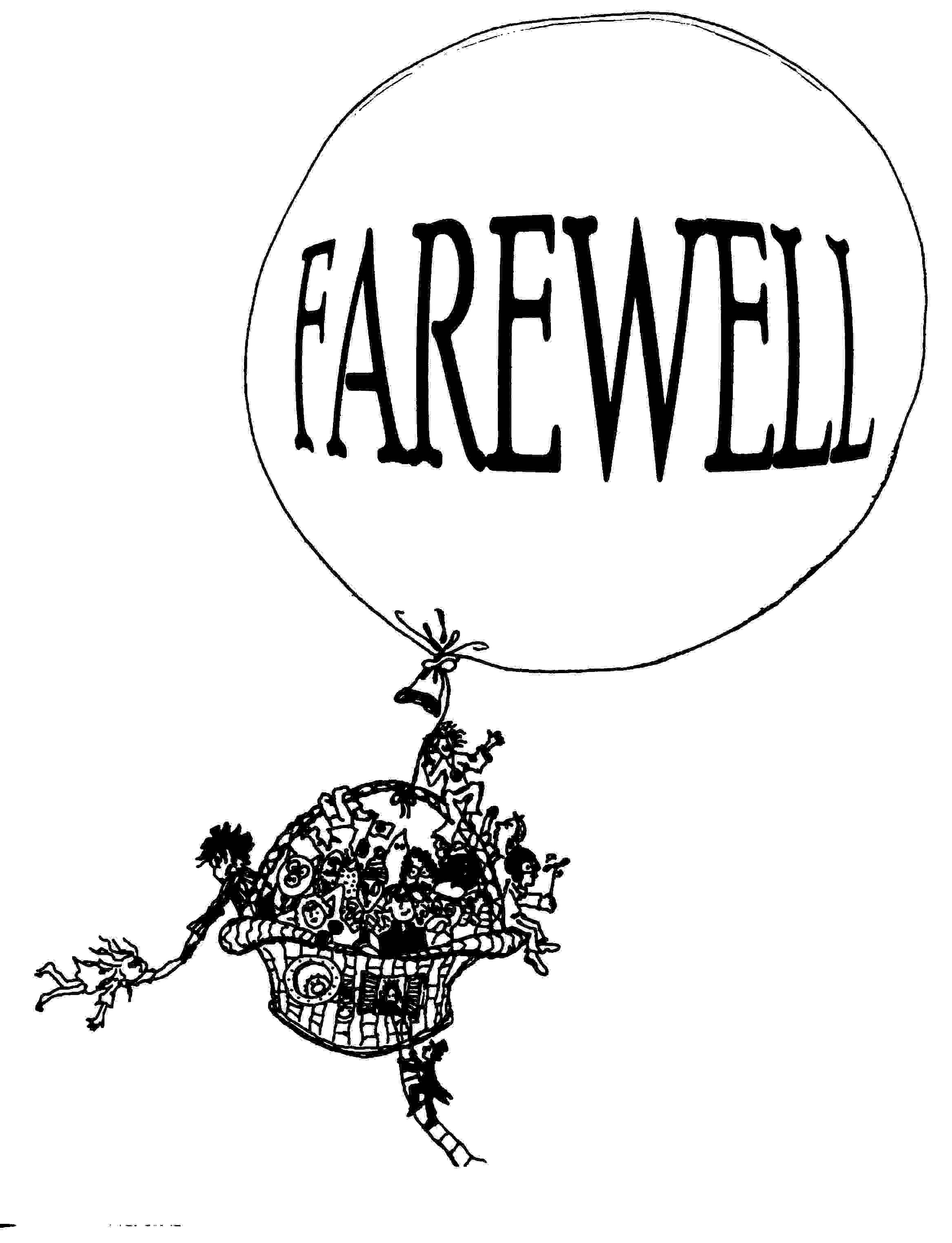 Farewell Clipart 20 Free Cliparts