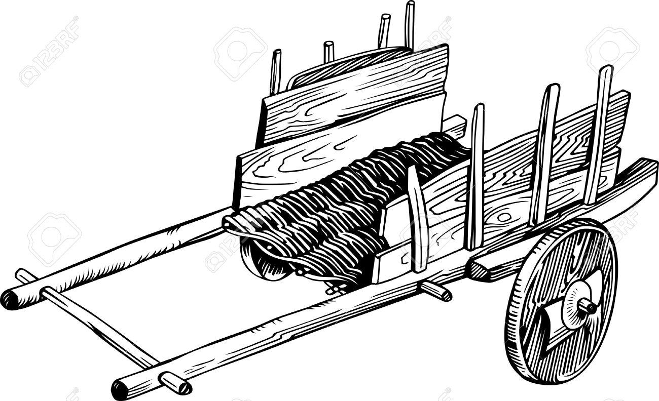 Farm Wagon Clipart