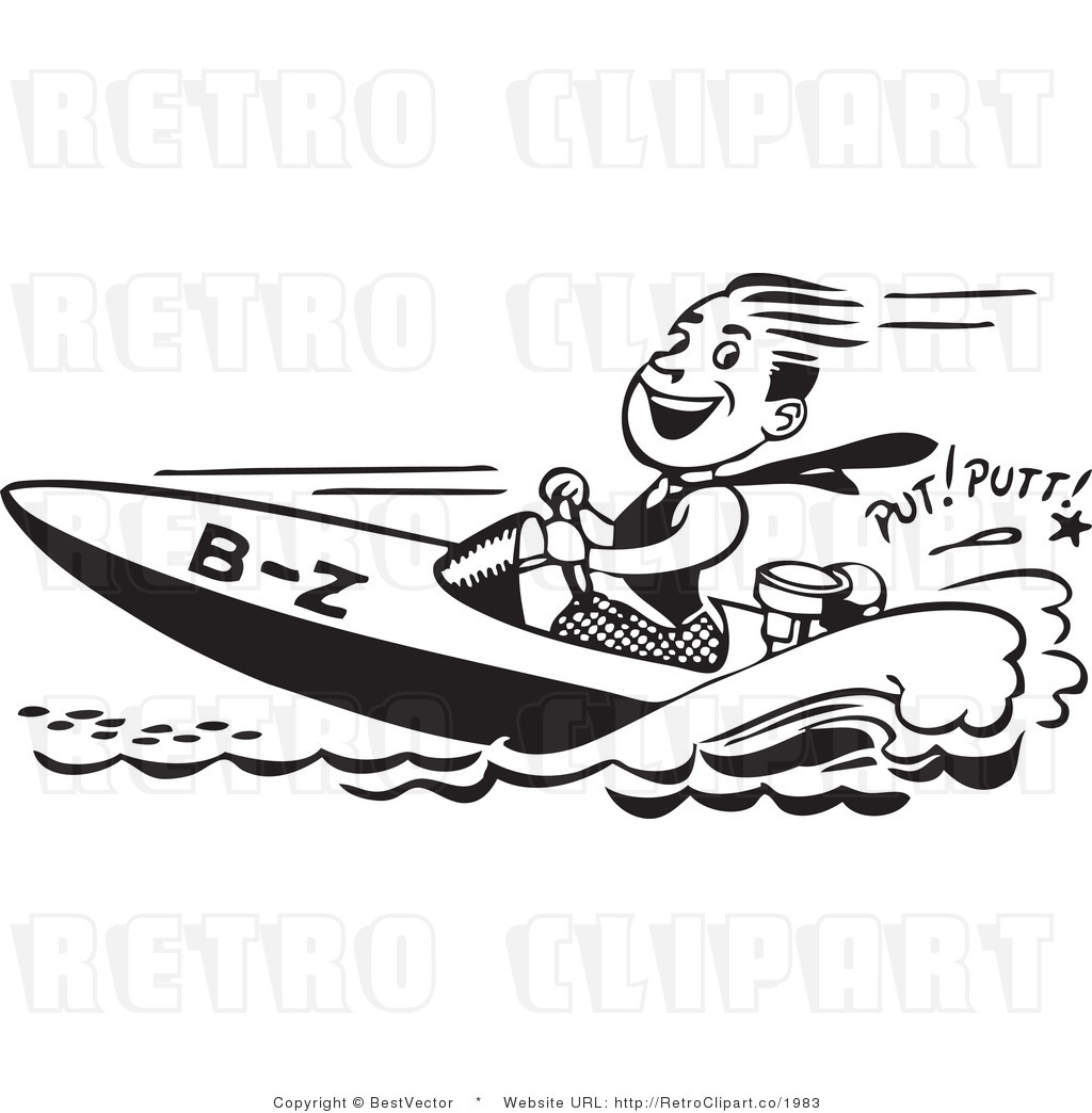 Fast Boat Clipart