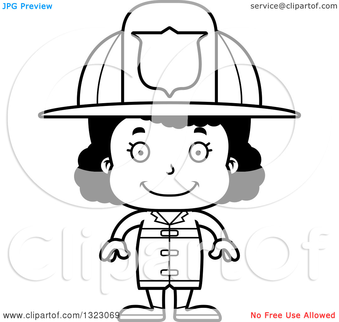 Fire Badge Clipart Outline