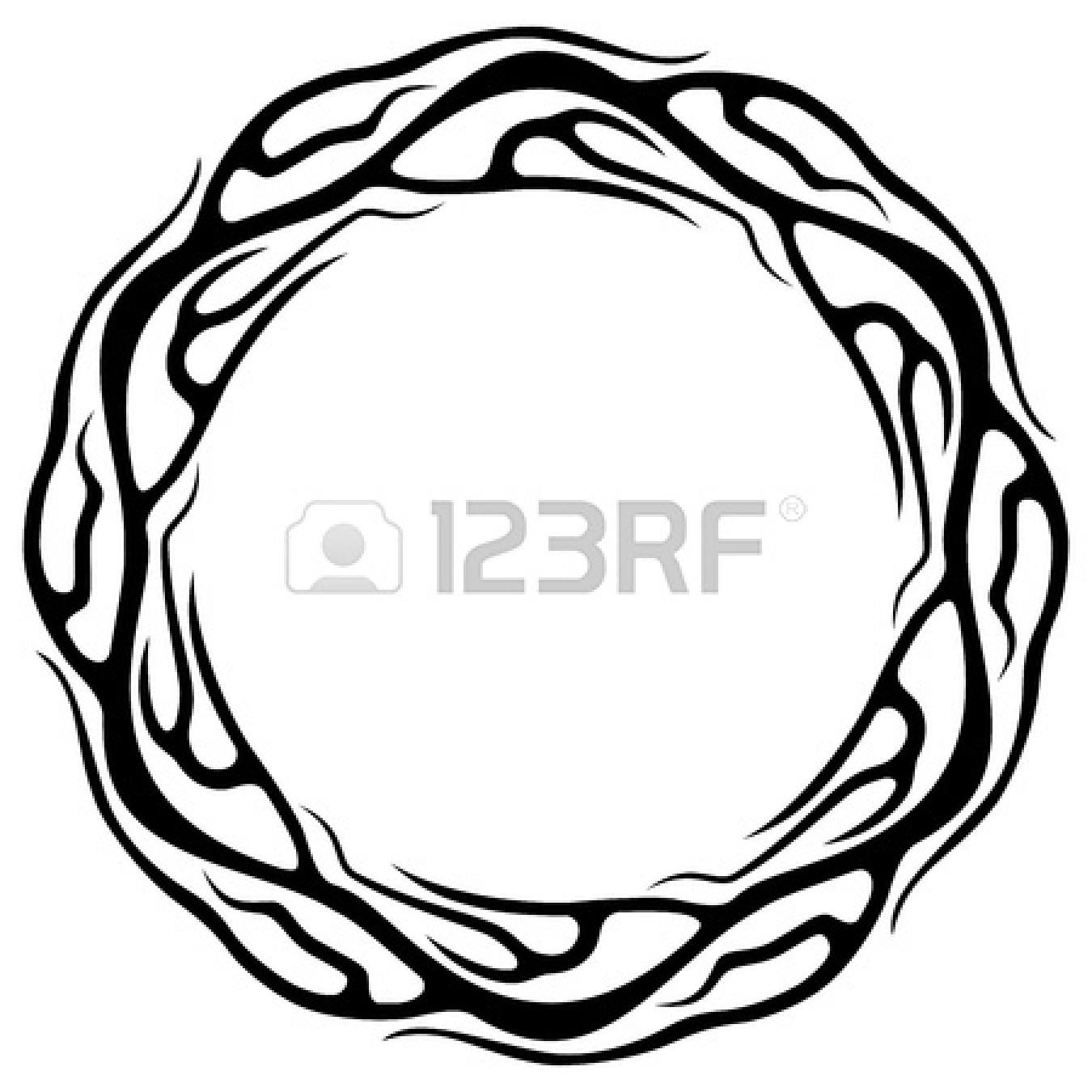 Fire Circle Clipart