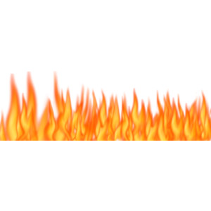 Fire Flames Clipart Border Clipground