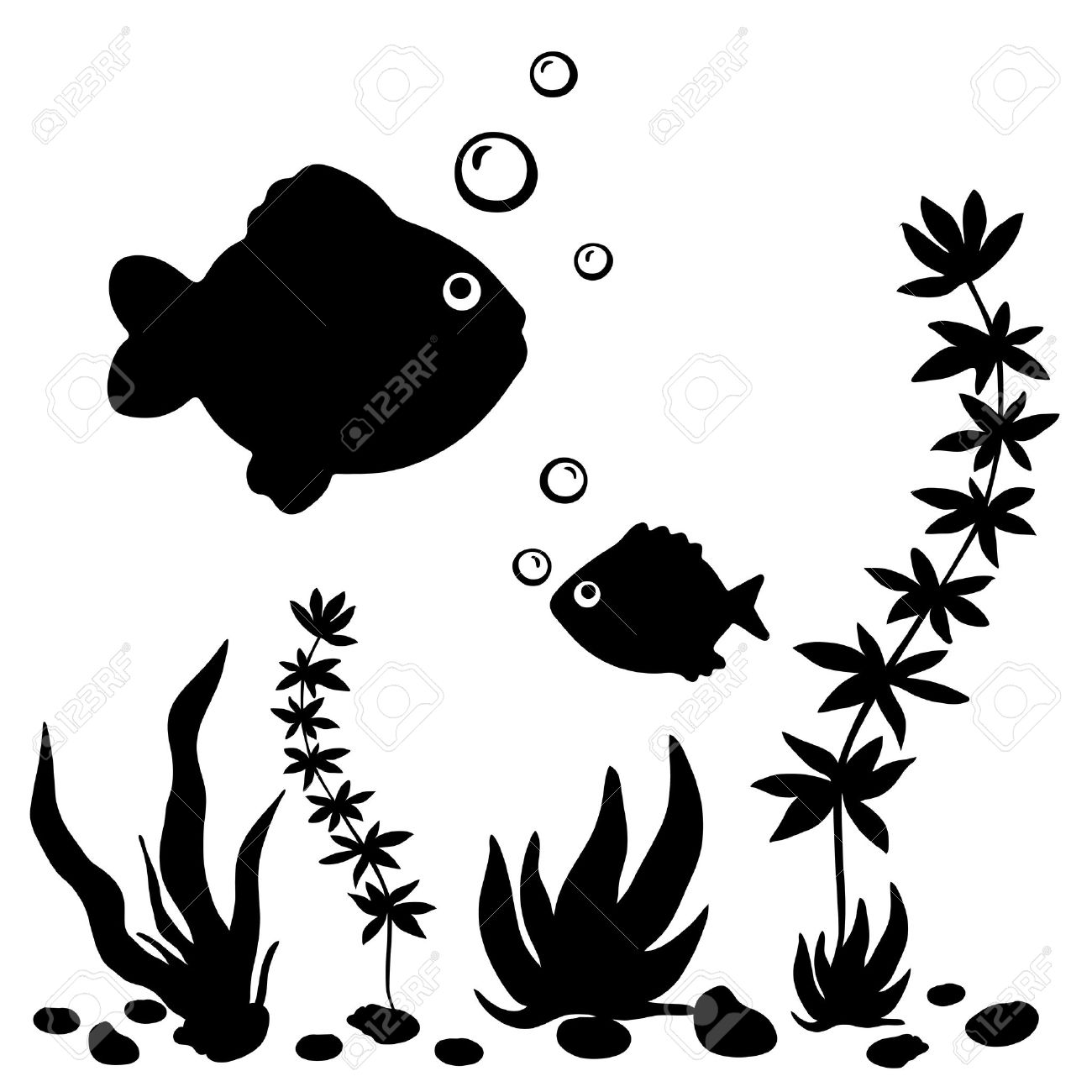 Fish Water Plants Clipart 20 Free Cliparts