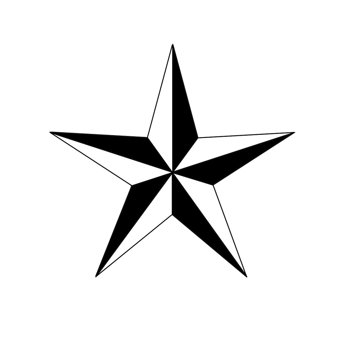 Five Pointed Star Clipart 20 Free Cliparts