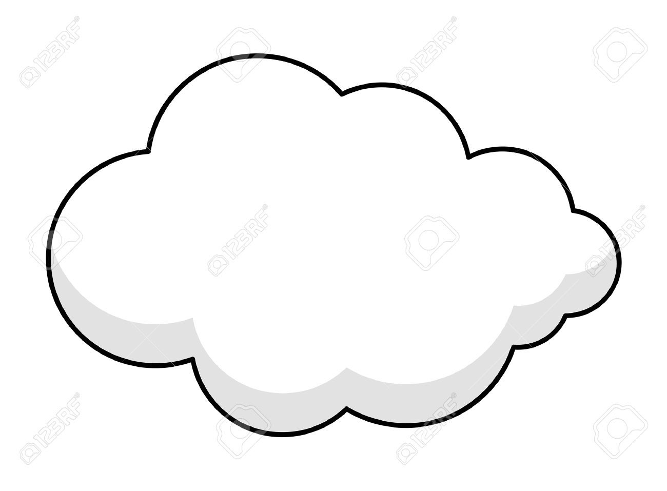 Fluffy Clouds Clipart