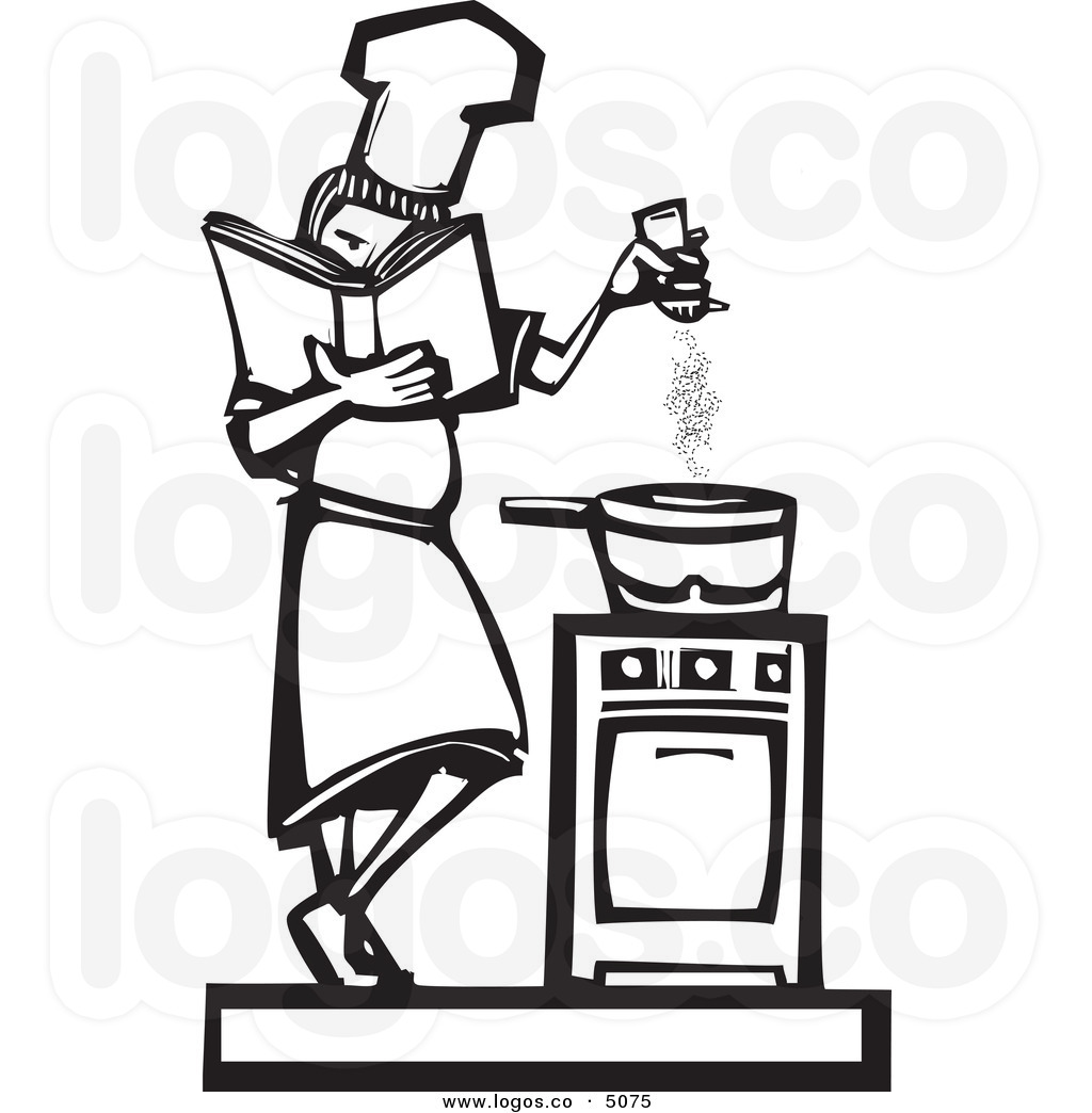 Restaurant Table Clipart Black And White