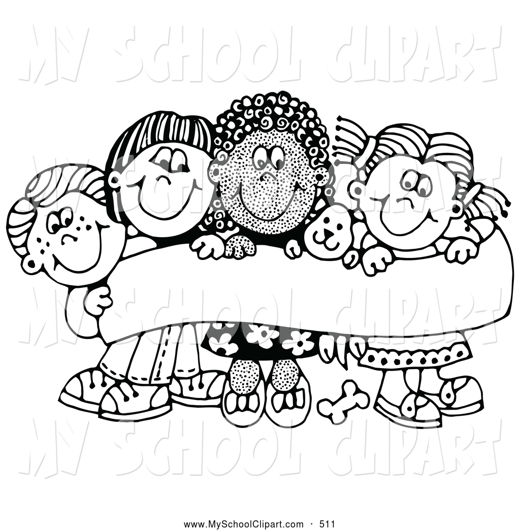 Free Black And White Clipart School 20 Free Cliparts