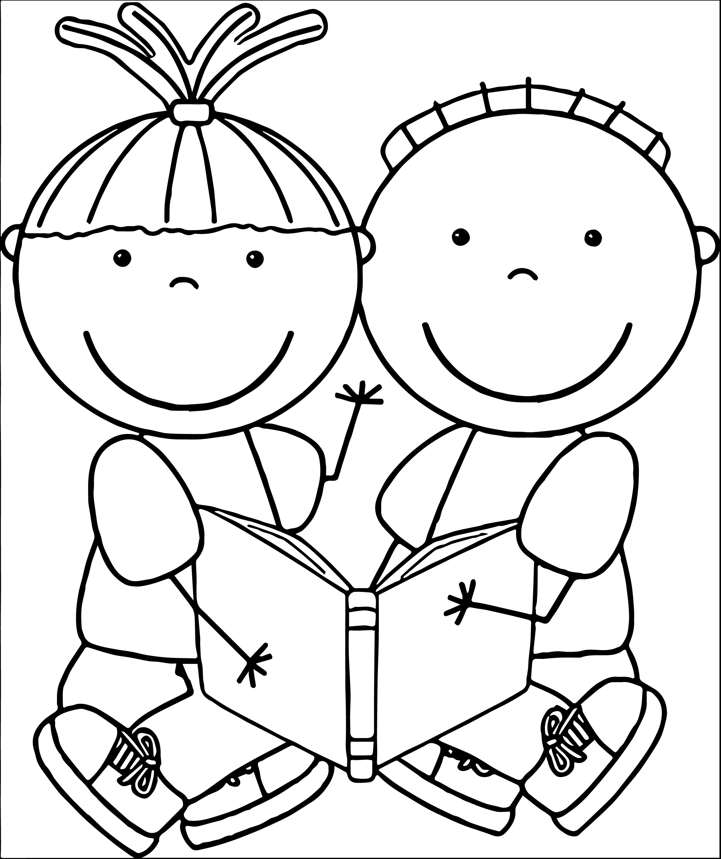 Reading Black And White Clipart 20 Free Cliparts