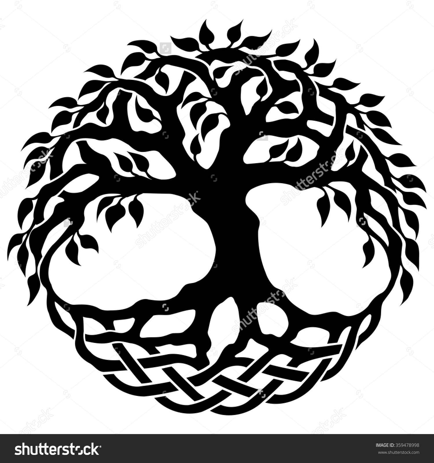 Free Celtic Tree Of Life Clipart