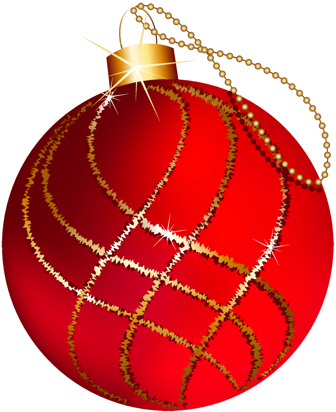 free christmas silver and gold ornament clipart 2x4 ... (1100 x 1348 Pixel)