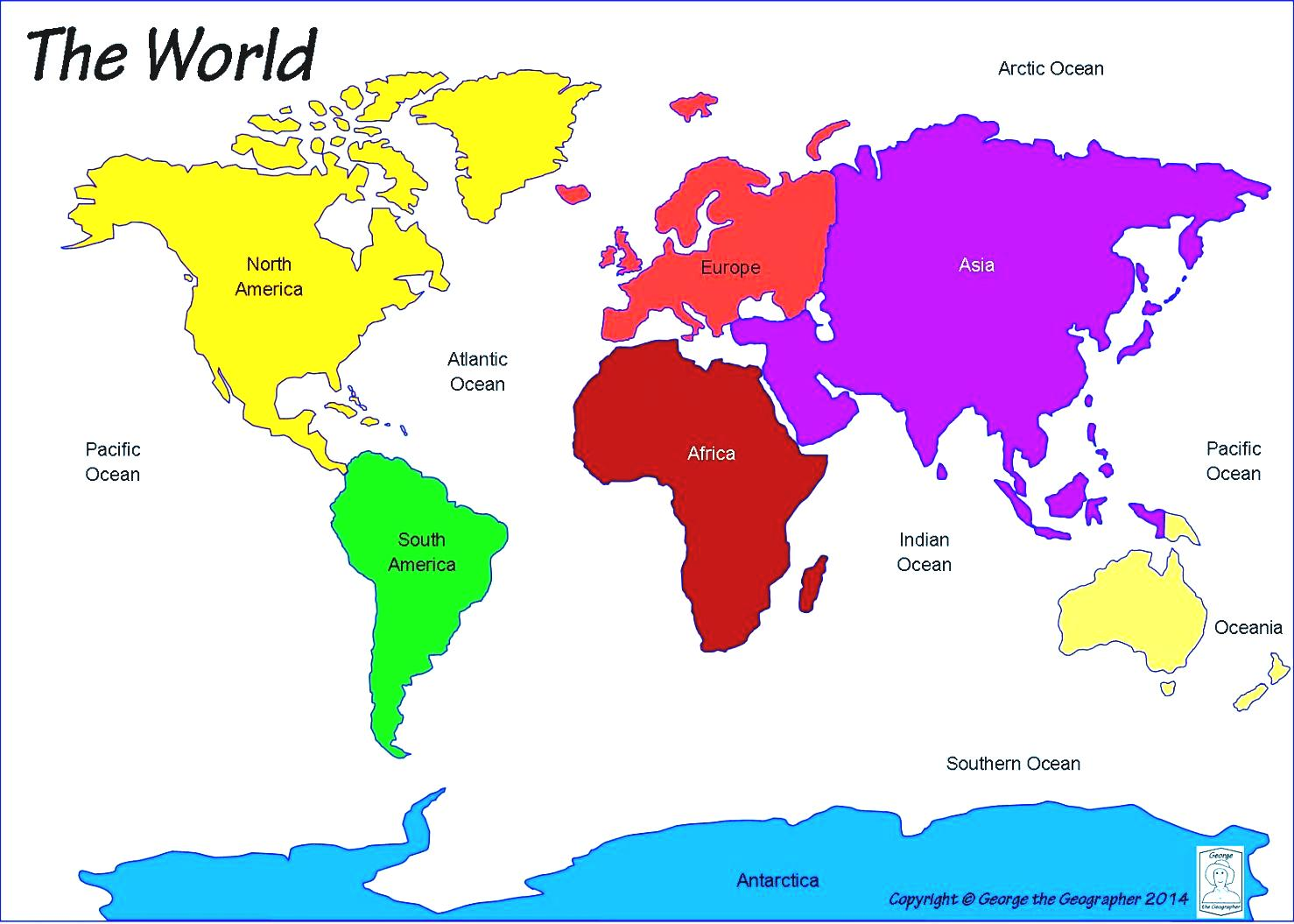 Free Clipart World Maps 20 Free Cliparts