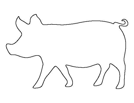Printable Cute Elephant Stencils