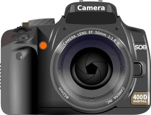 Slr camera clipart - Clipground (500 x 382 Pixel)