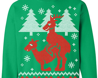 Funny Christmas Sweater Print Clipart Clipground