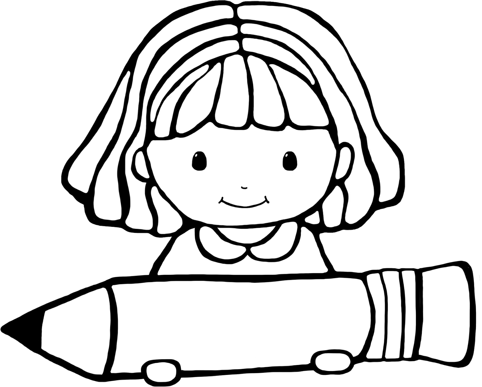 Girl And Boy Writing Clipart 20 Free Cliparts