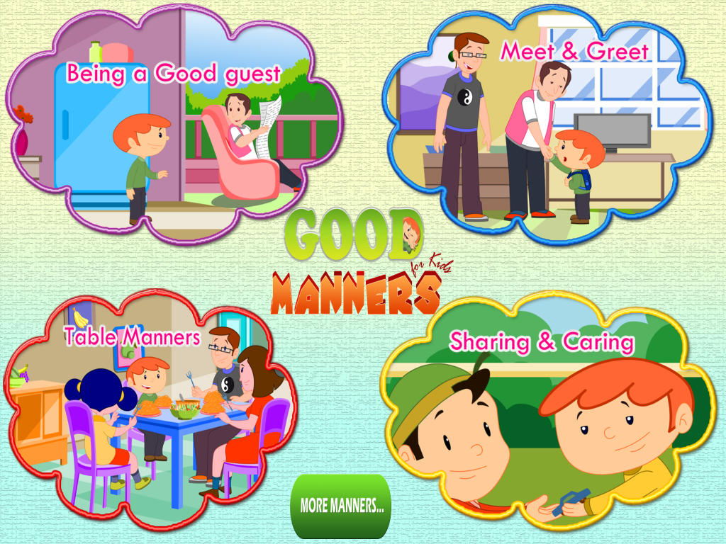 Good Manners For Children Clipart 20 Free Cliparts