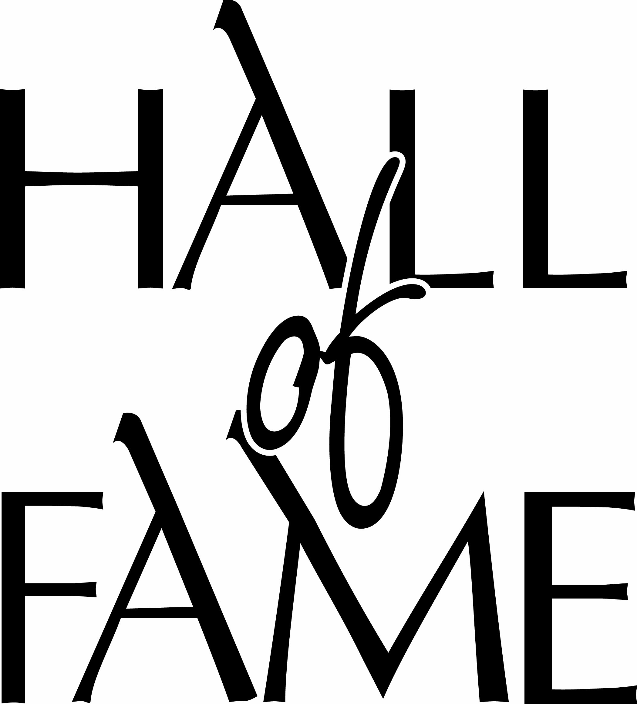 Hall Of Fame Clipart