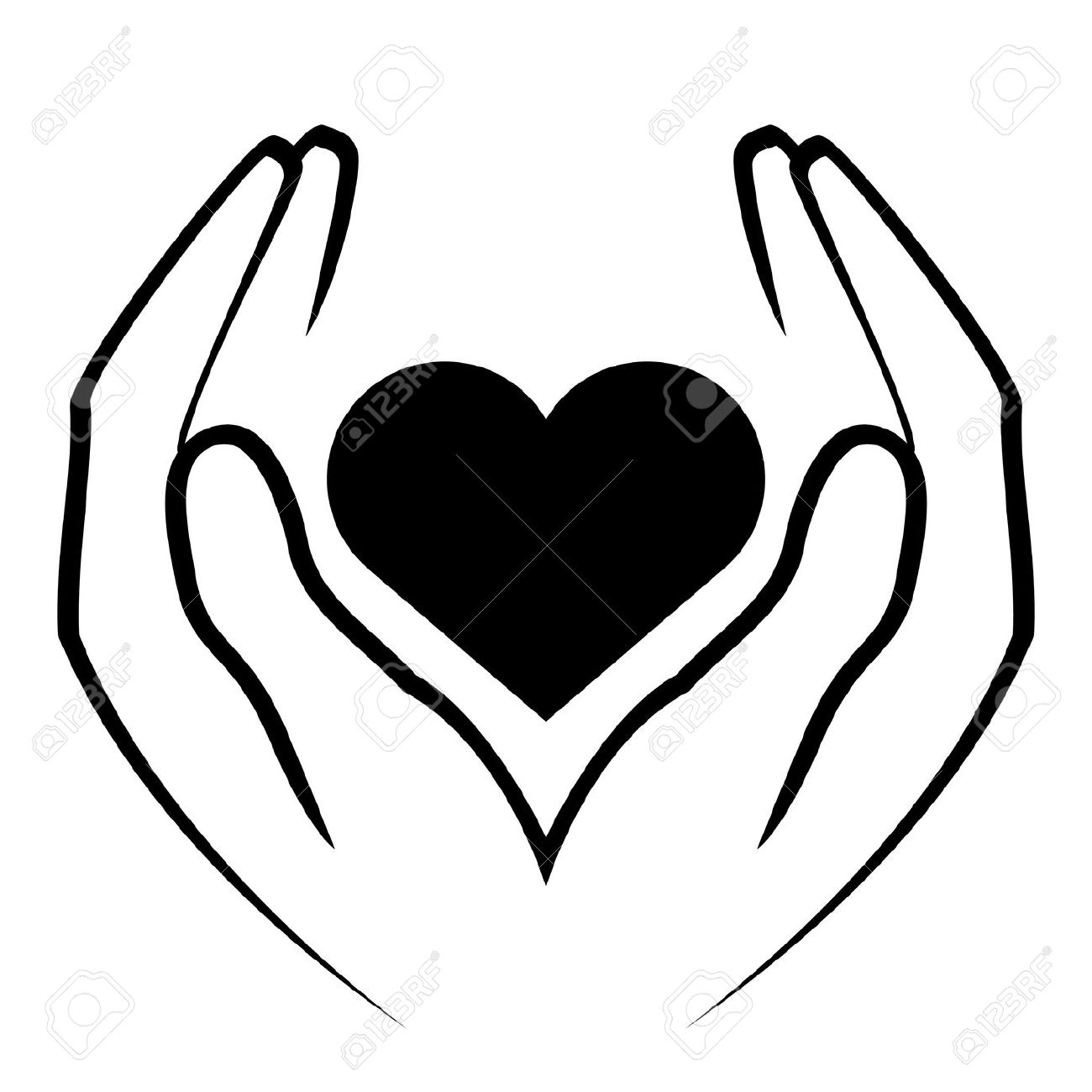 Hands Heart Clipart