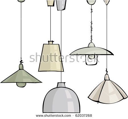 Hanging Lamps Clipart Clipground
