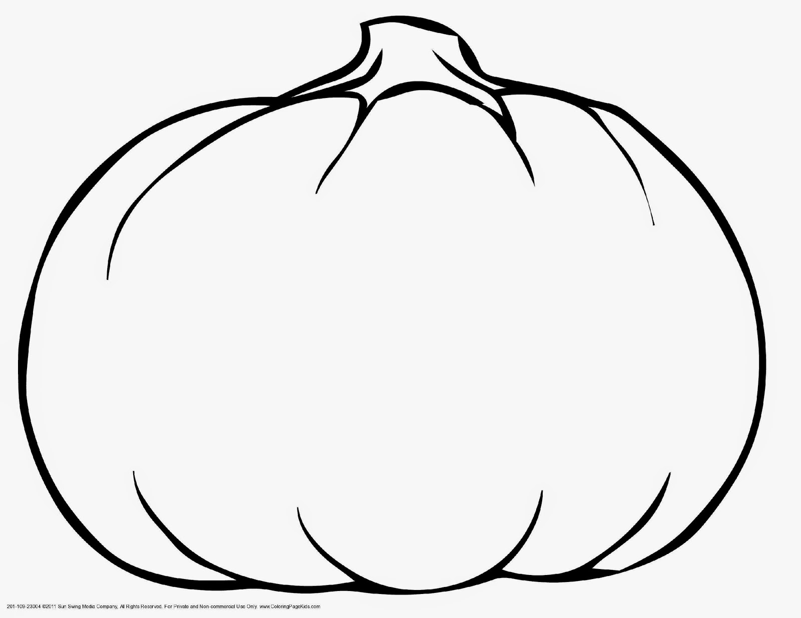 Pumpkin Monogram Clipart Black And White