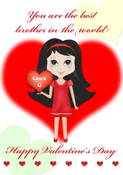 Happy Valentines Day Brother Clipart Clipground