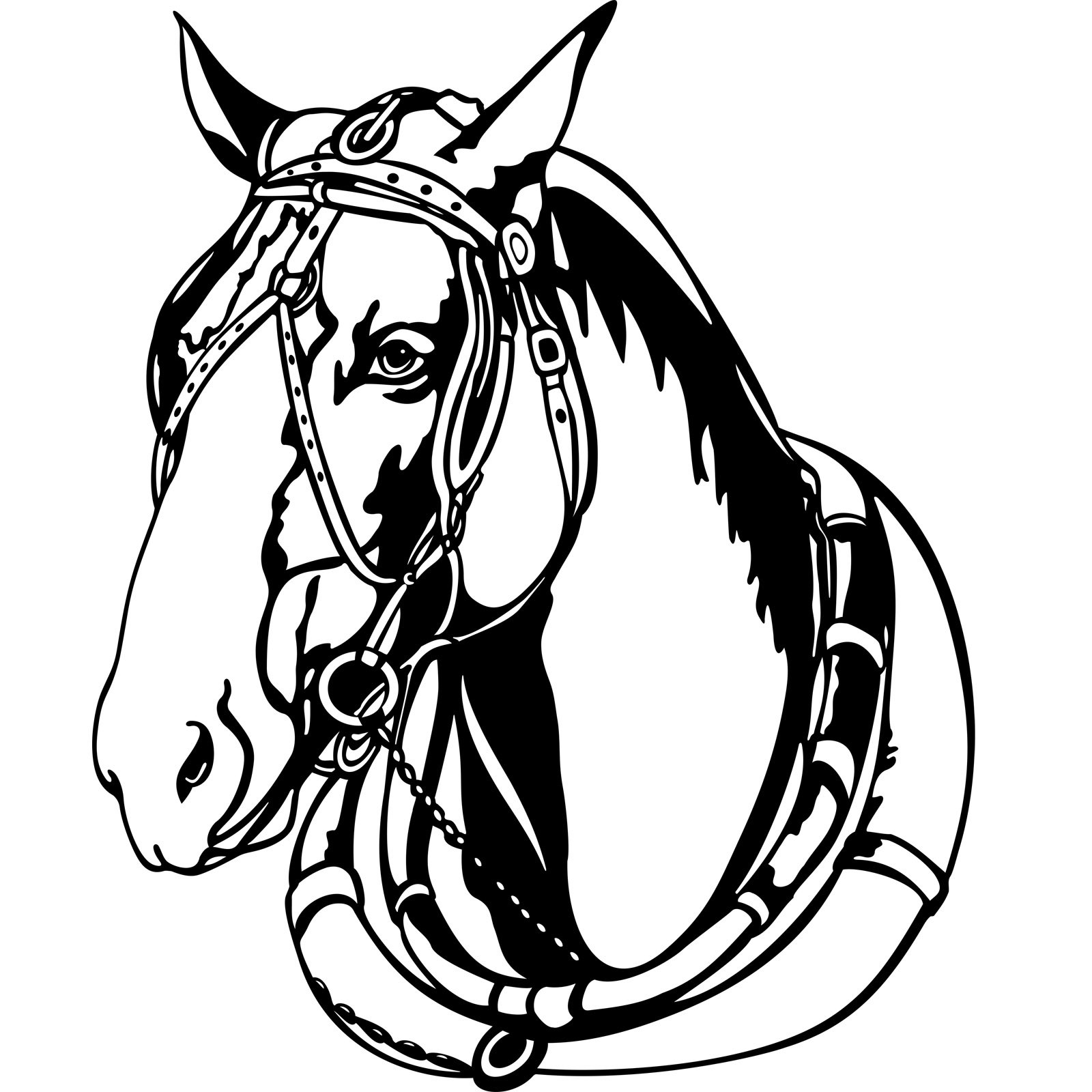 Harness For Horses Clipart 20 Free Cliparts