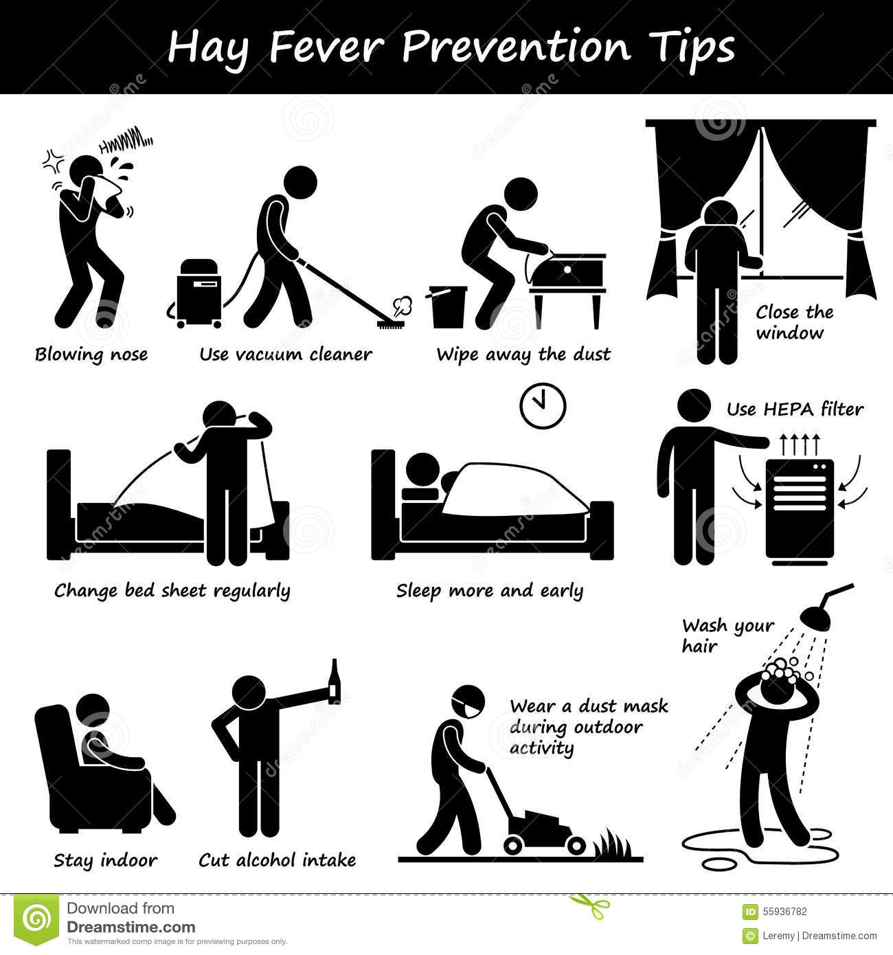 Hay Fever Clipart
