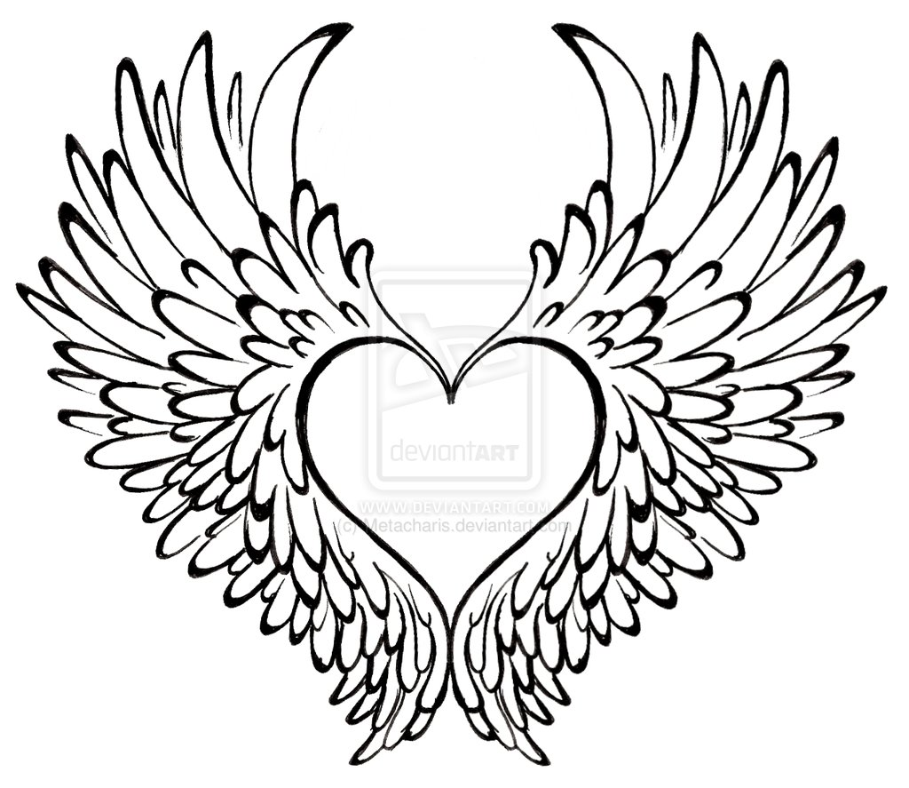 Hearts With Wings And Roses Clipart 20 Free Cliparts