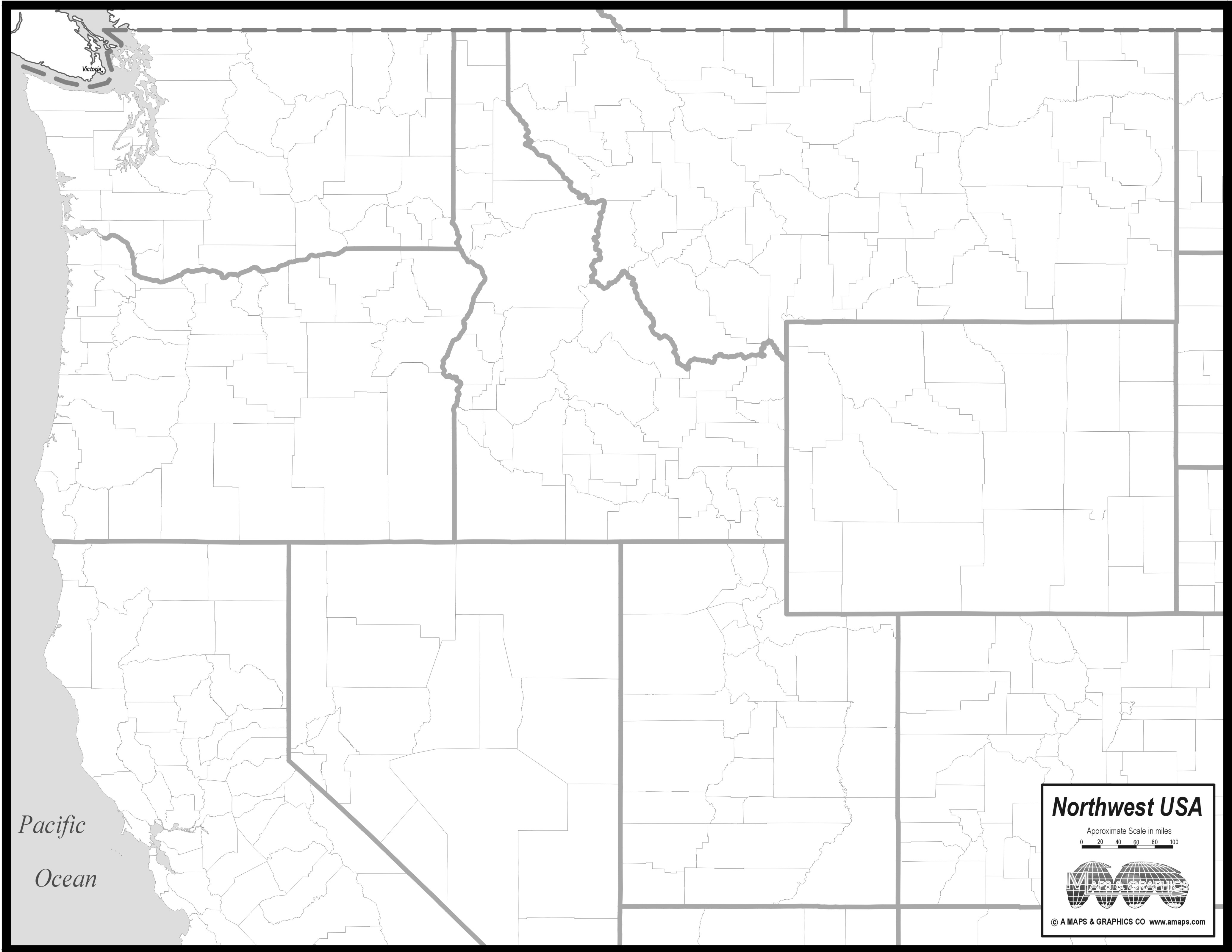 Image Pacific Northwest Map Clipart 20 Free Cliparts