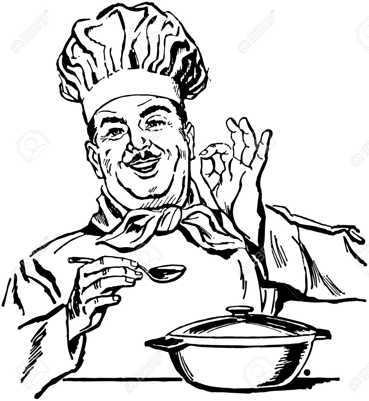 Italian Cooking Clipart