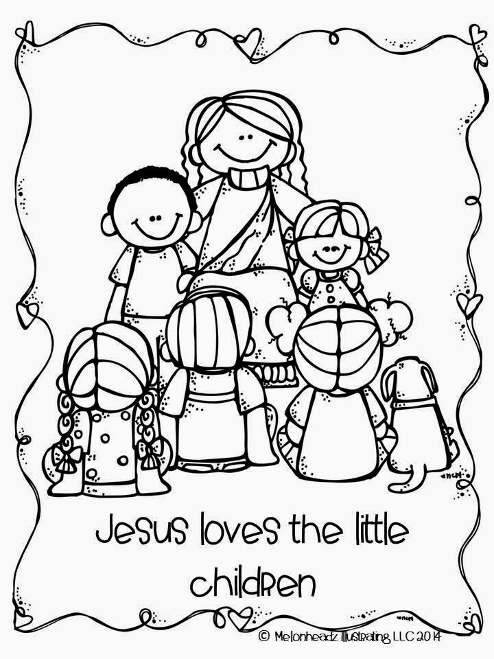 Jesus Loves Children Black And White Clipart Clipground
