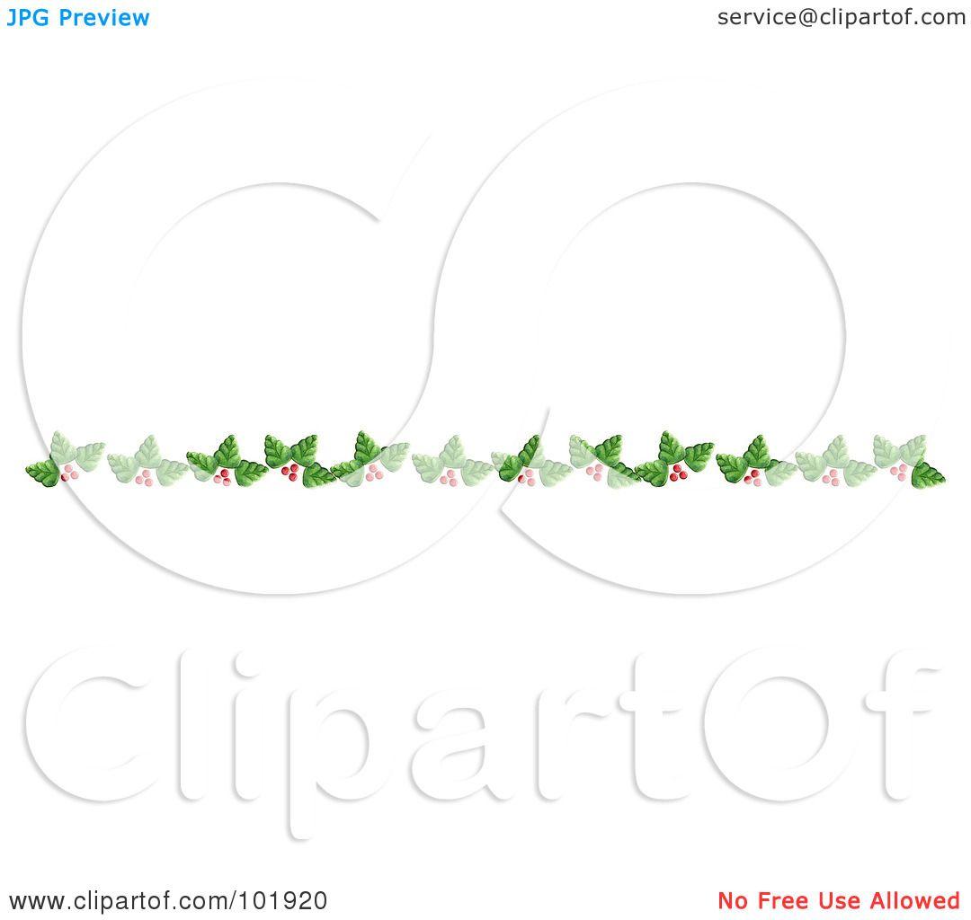 Leaf Divider Clipart
