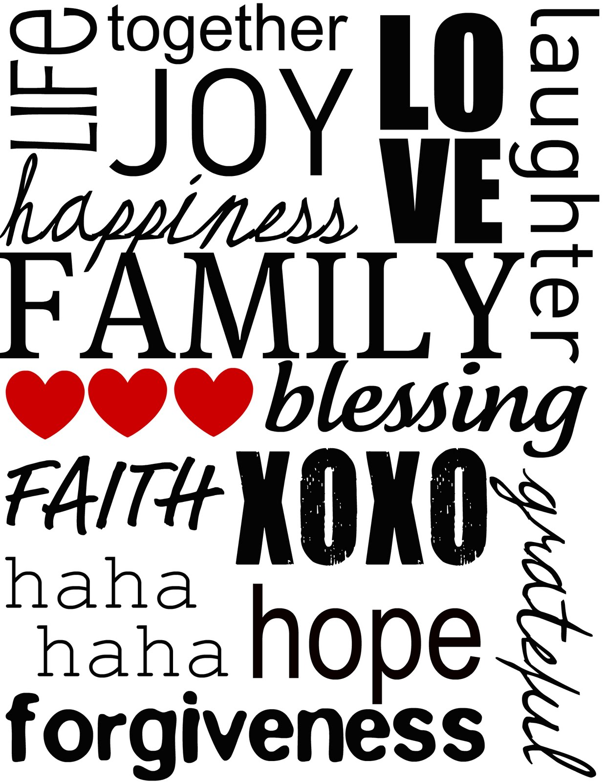 love my family clipart 20 free Cliparts | Download images ... (1236 x 1600 Pixel)