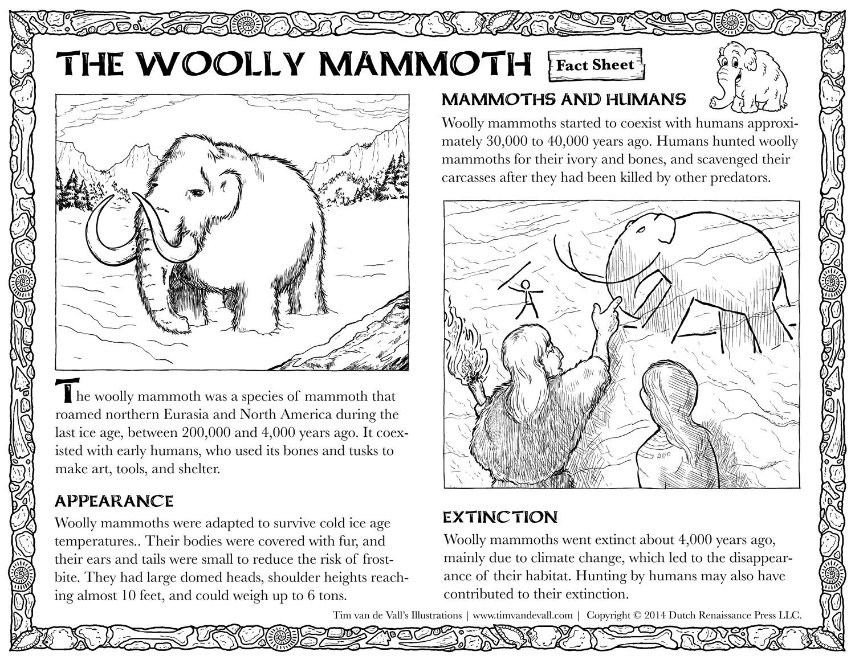 Mammoth Sheet Clipart
