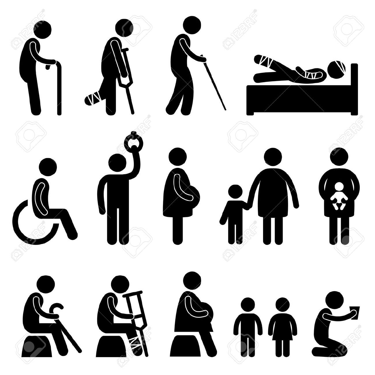 Sick And Poor Black Man Clipart 20 Free Cliparts