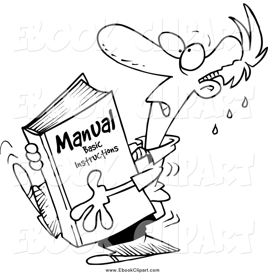 Manuals Clipart