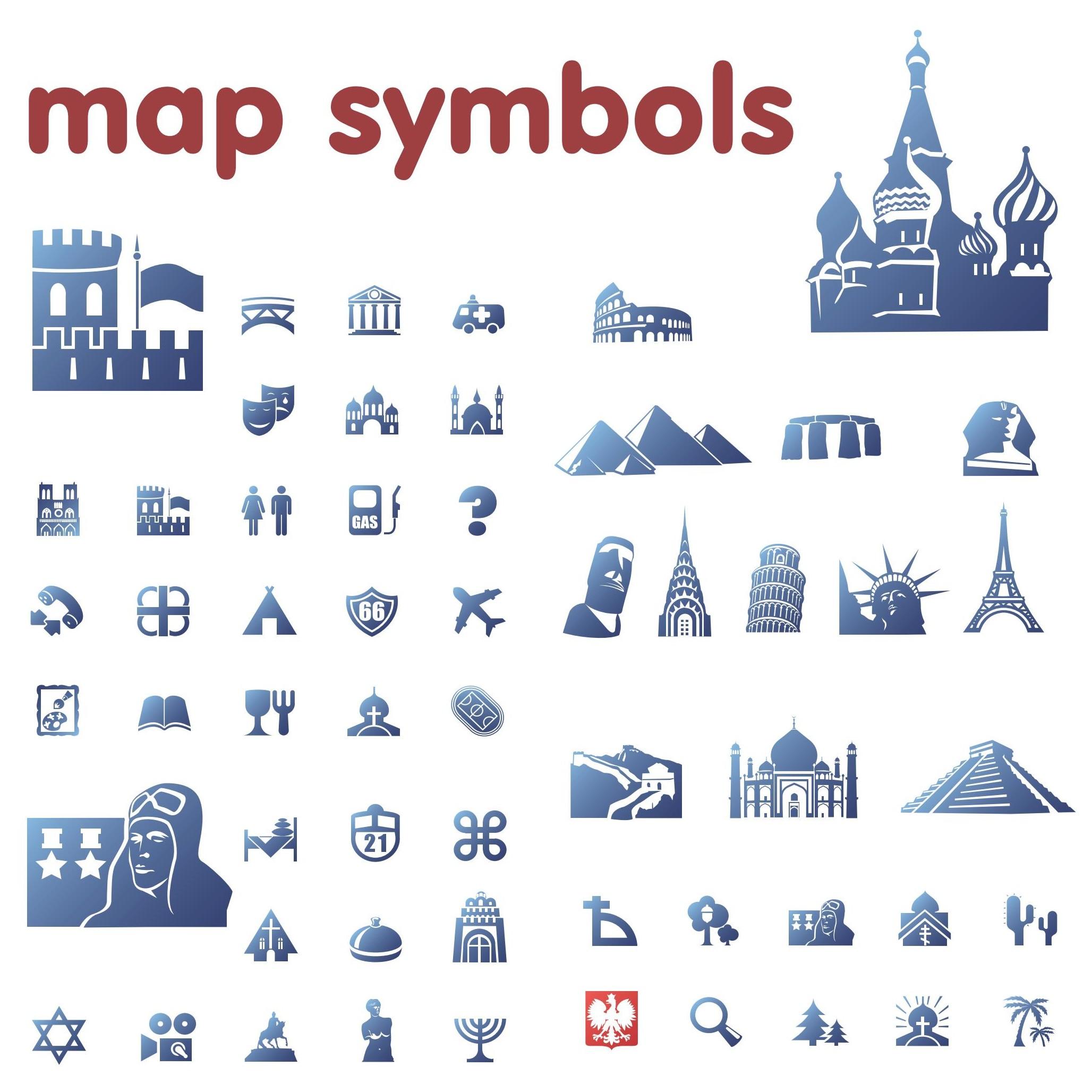 Map Symbols Clipart 20 Free Cliparts