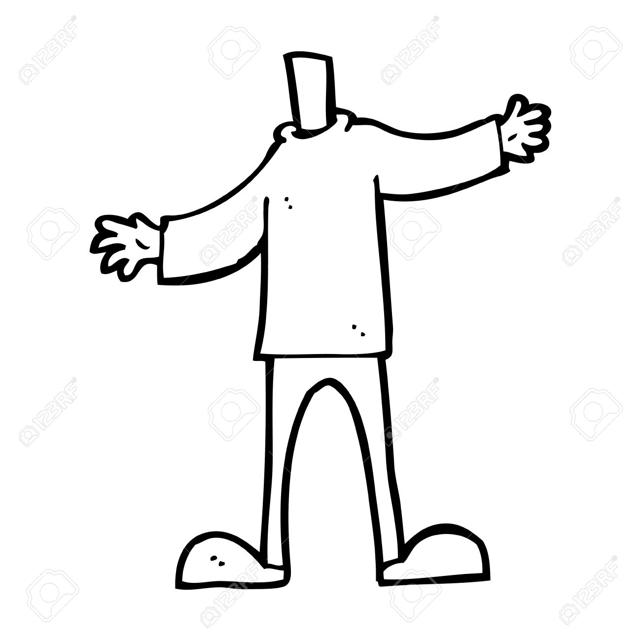 Body Without Brain Clipart