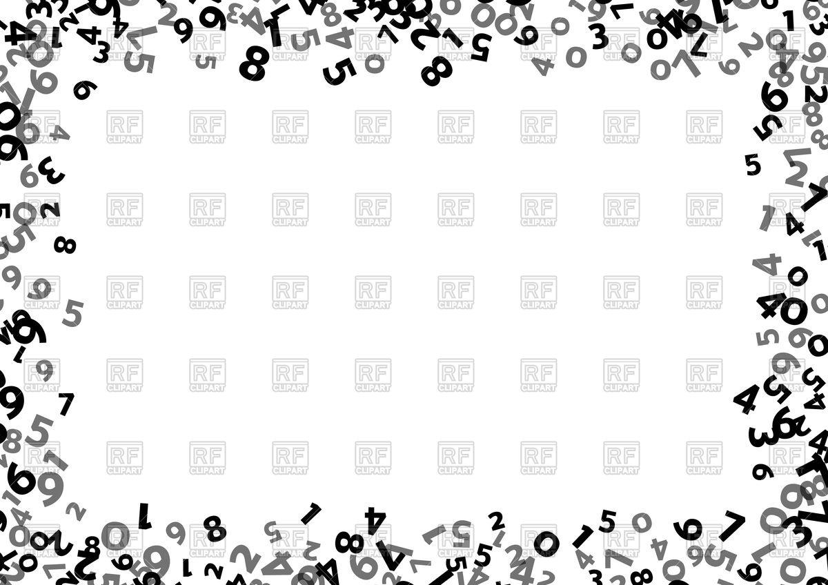 Math Frame Clipart
