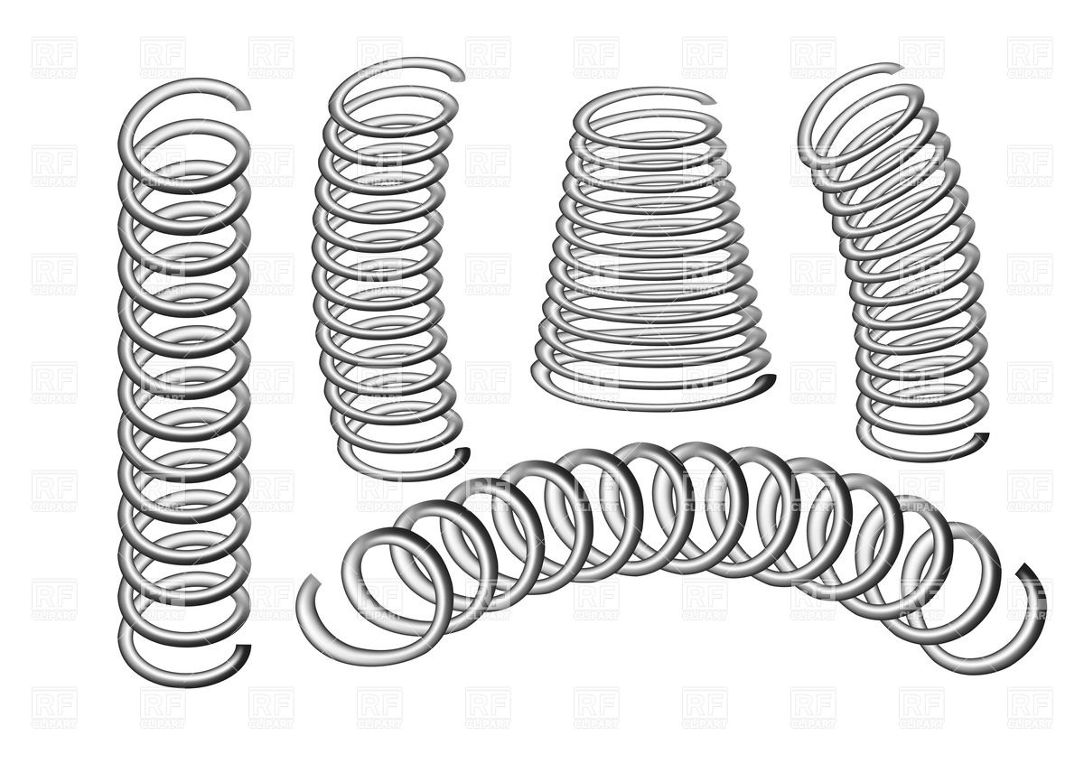 Metal Spring Clipart