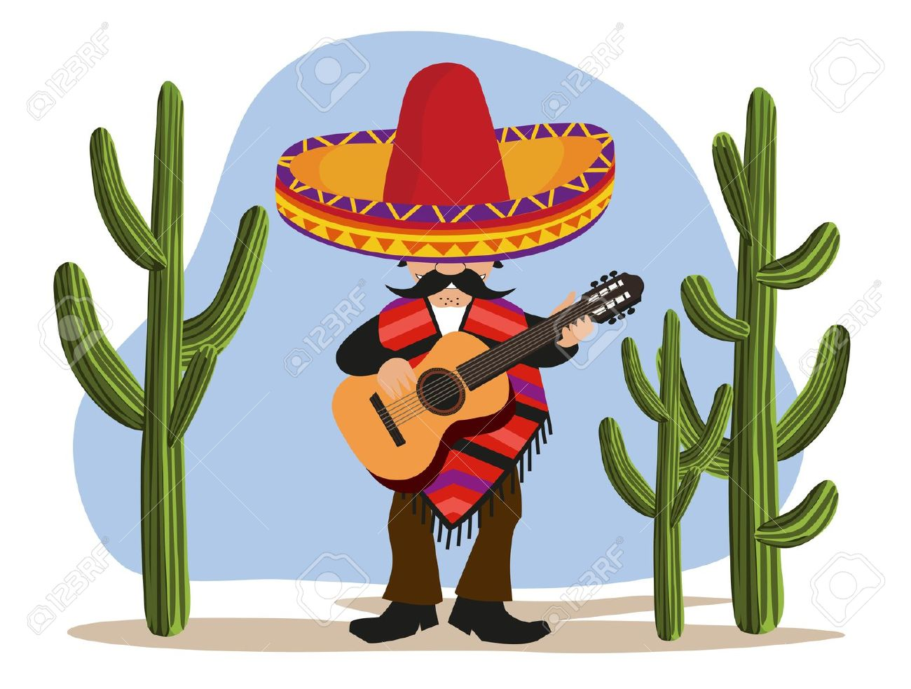 Mexican Poncho Clipart Clipground