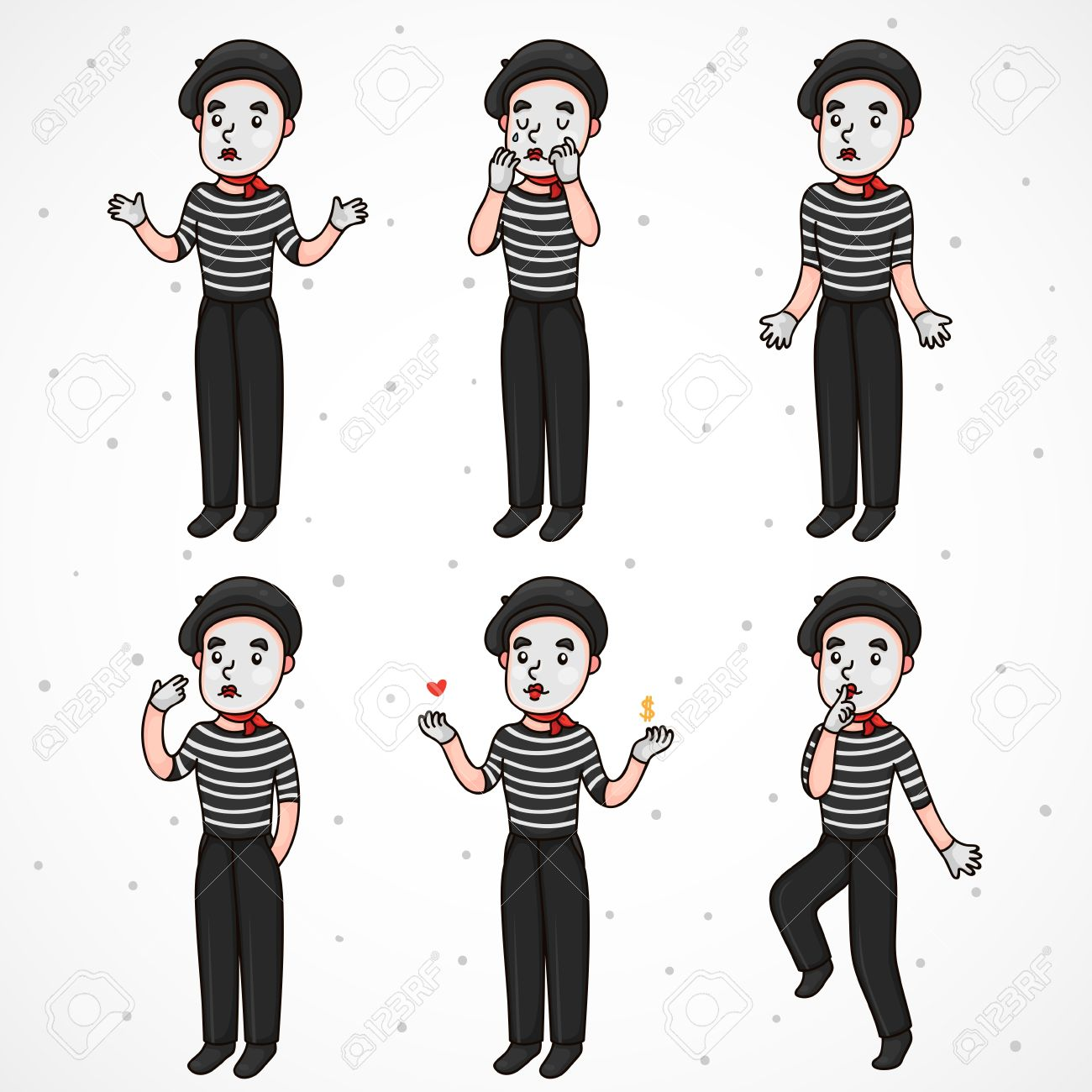 Mime Clipart 20 Free Cliparts