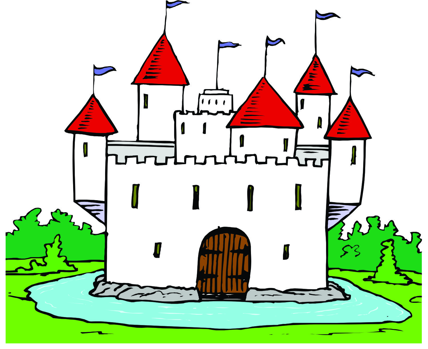 The Moat Clipart 20 Free Cliparts