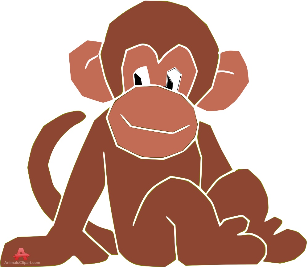 Monkey Sitting Clipart 20 Free Cliparts Download Images